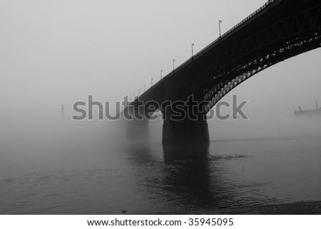 eads bridge - stock photo