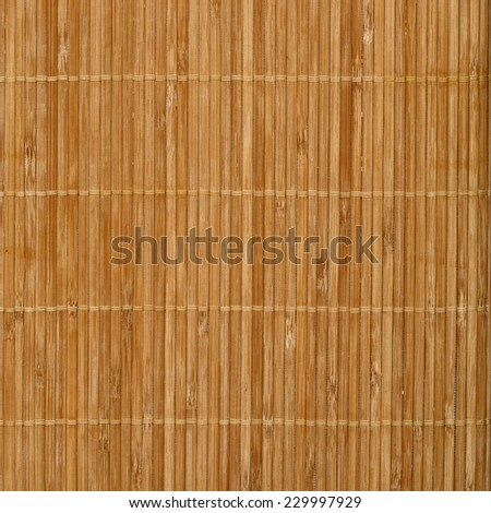 eamless natural slim bamboo texture. Furniture texture. - stock photo