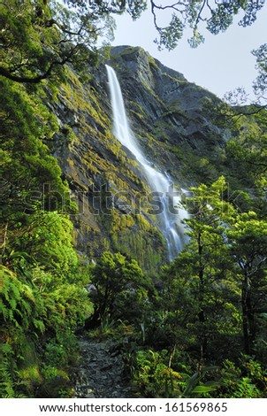 Earland Falls - stock photo
