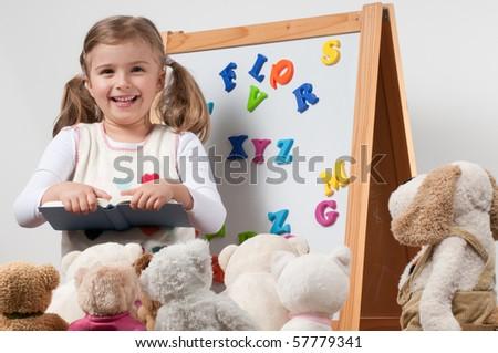Early education (no-name toys) - stock photo