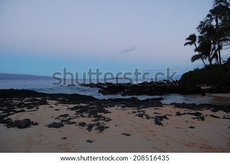 Early Morning Maui From Secret Beach