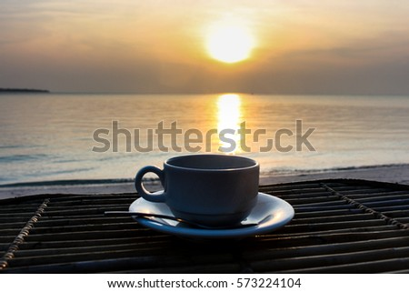 Early Morning Tea You Watch Su...