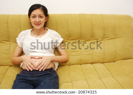 Early Pregnancy - stock photo