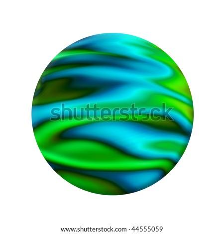 earth abstract - stock photo