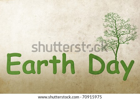 Earth Day - stock photo