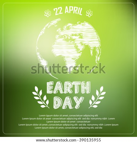 Earth Day Poster Stock Images, Royalty-Free Images & Vectors ...