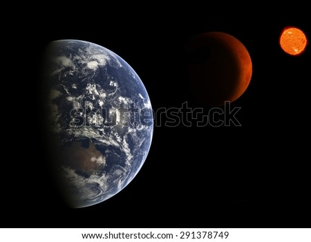 Earth. Elements of this image furnished by NASA