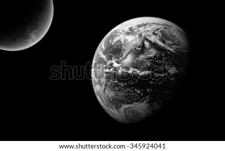 Earth.Elements of this image furnished by NASA