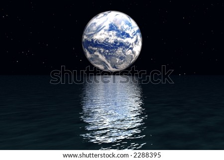 Earth from other planet
