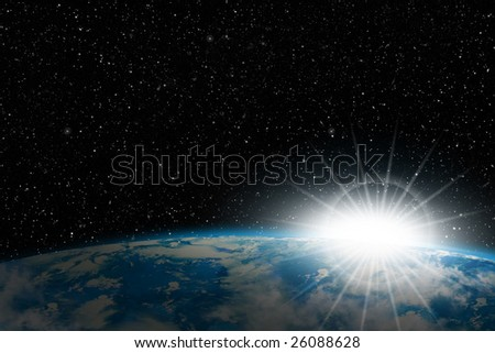 Earth In Space: Sunrise
