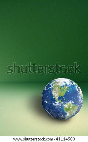 Earth in the room