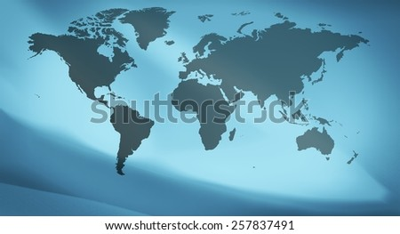 Earth map concept background