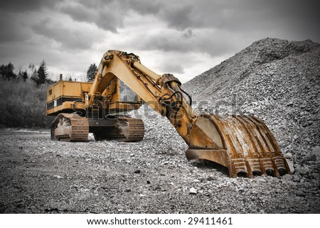 Earth Mover - stock photo