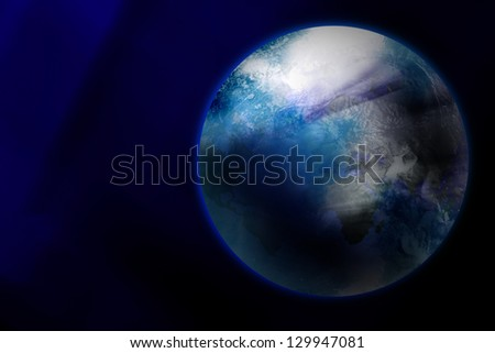 earth, planet of the solar system