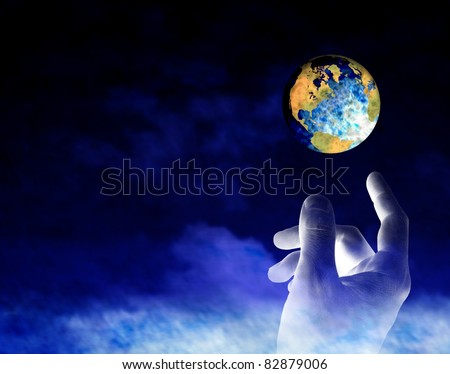 Earth's Creation - stock photo