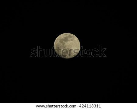 Earth's Moon - stock photo