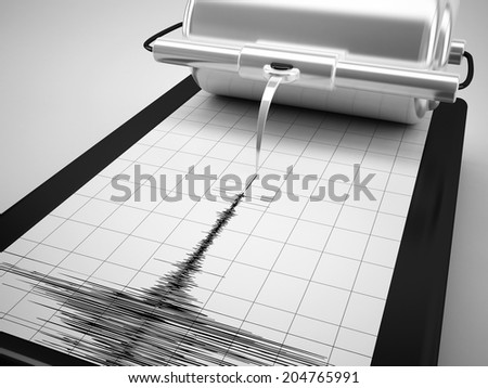 earthquake measures - stock photo