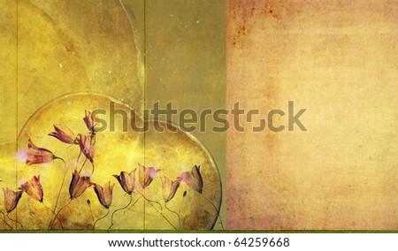earthy background image - stock photo