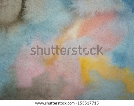earthy colors watercolor background - stock photo