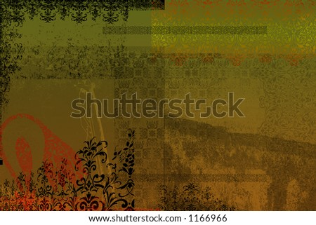 Earthy grunge background - stock photo