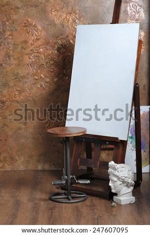 easel   - stock photo