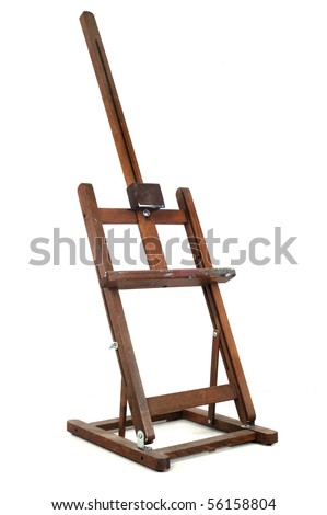 easel - stock photo