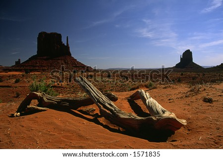 East and West Mitten Buttes, Monument Valley Navajo Tribal Park