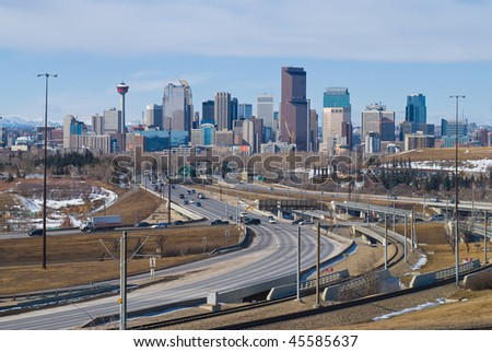 East Gate to City of Calgary, Canada
