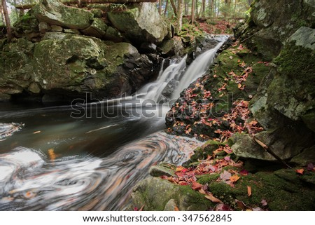 East Jimmy creek waterfall - stock photo