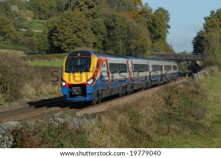 East Midlands Trains Voyager train