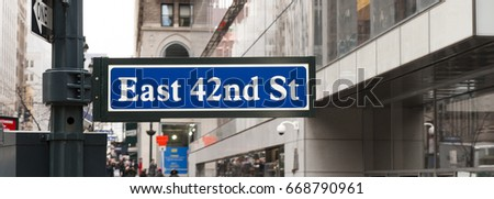 east 42nd st