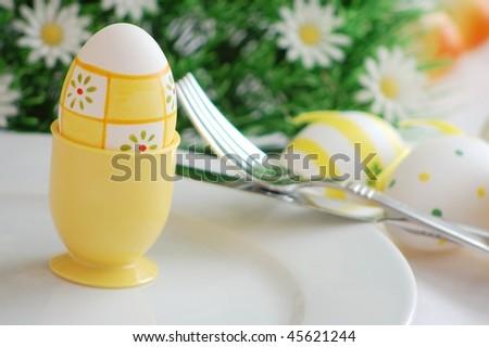Easter Breakfast - stock photo