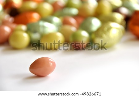 Easter candies - stock photo