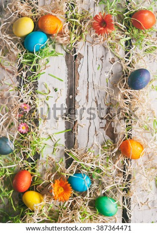 stock photo: easter background