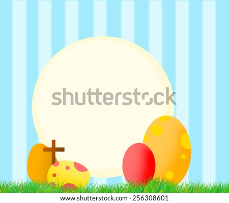 Easter Day background for cover, background or wallpaper - stock photo