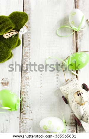 Easter Decoration. Easter background - stock photo