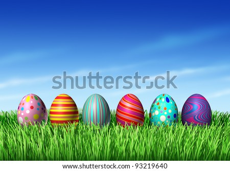 easter egg hunt graphics