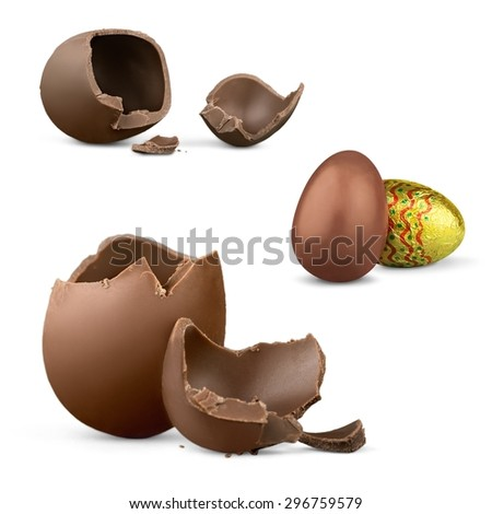 Easter, egg, photography. - stock photo