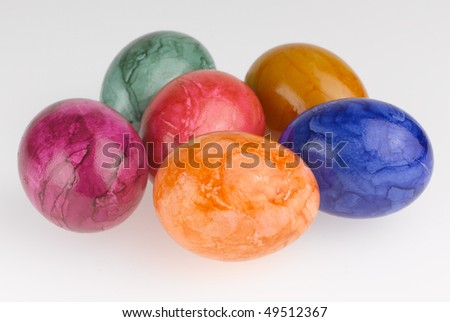Easter-Eggs - stock photo