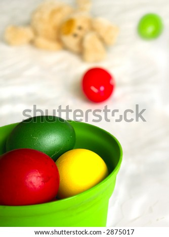 Easter Eggs (Shallow DOF)