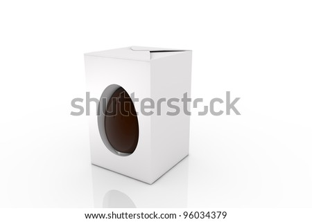 Easter - Gift Box - stock photo