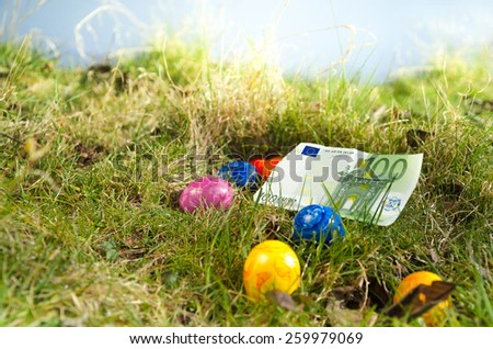 Easter Surprise - stock photo