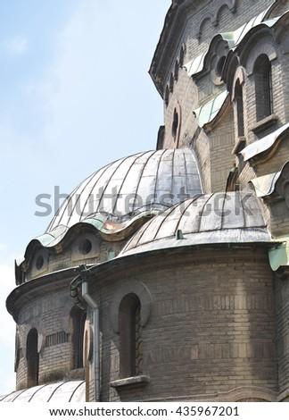 Eastern European Church Architecture - stock photo