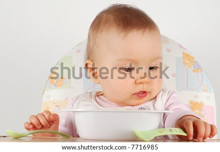 eating baby