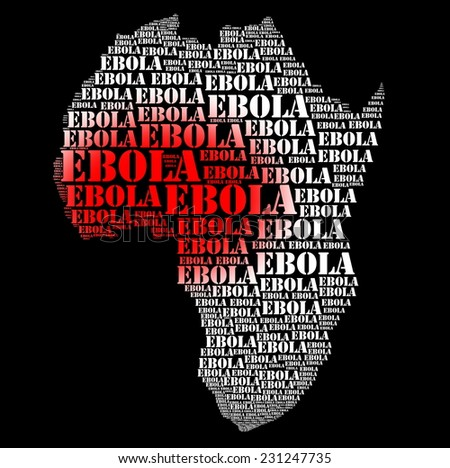 Ebola african virus disease and  hemorrhage fever