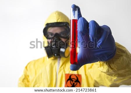 Ebola Virus Disease New Experimental Cure  - stock photo