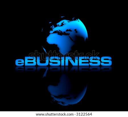 eBusiness - stock photo
