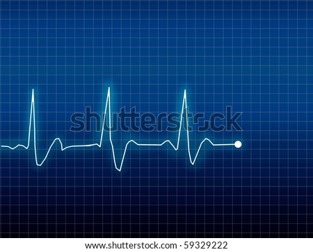 ECG Electrocardiogram - stock photo