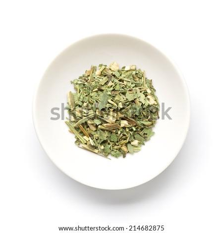 Echinacea leaf - stock photo