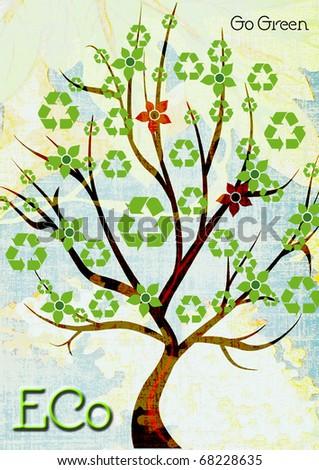 Eco - stock photo